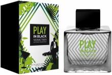 Antonio Banderas Seduction In Black Play
